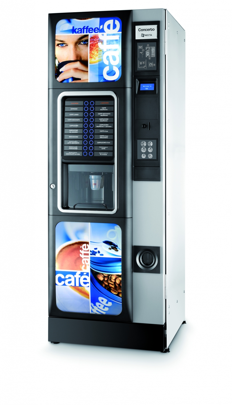Distributeur automatique de café