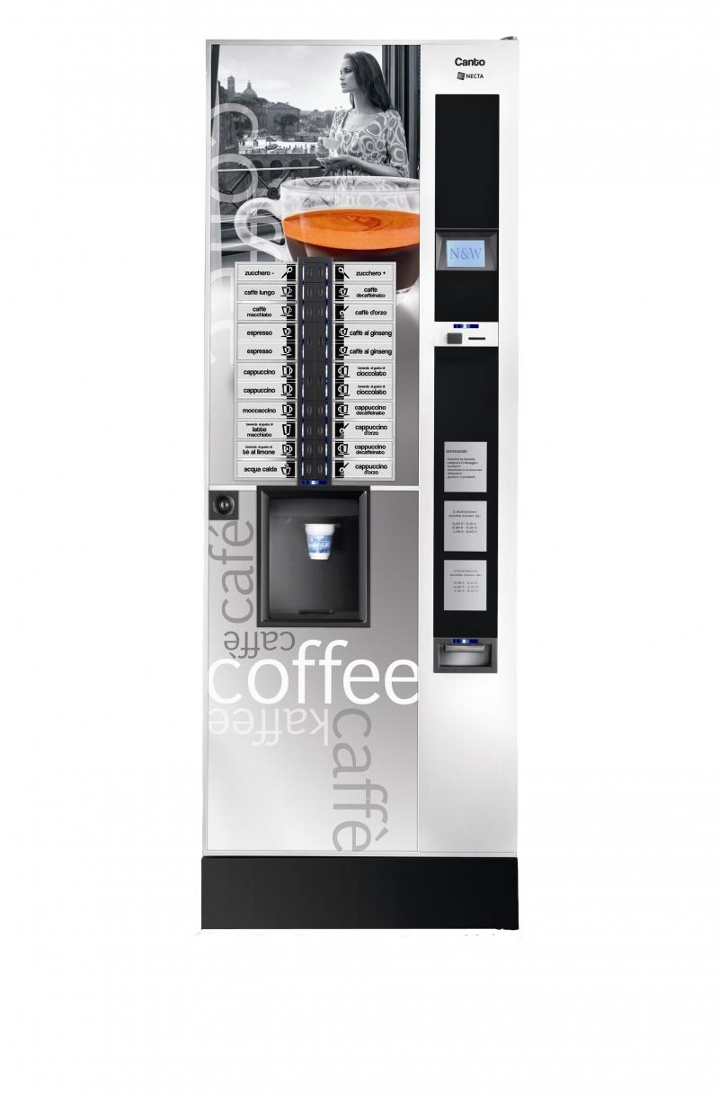vente distributeur automatique necta